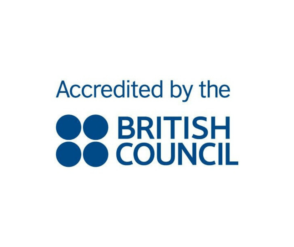 Accrédité par le British Council