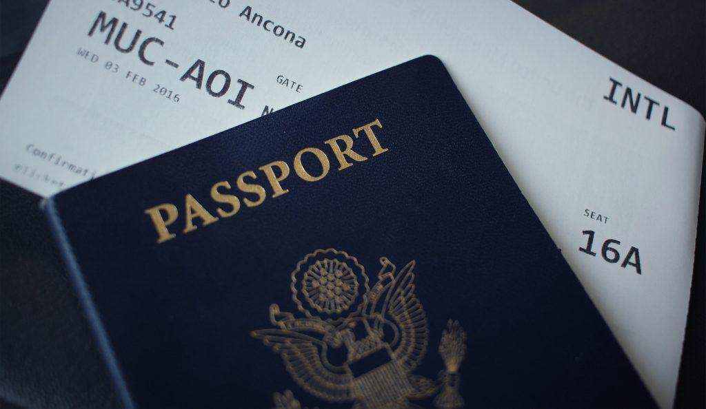 n'oubliez pas votre passeport