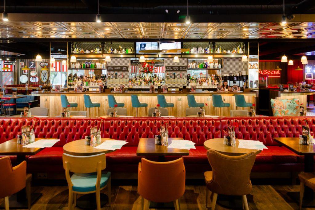 bar américain à cocktails à bournemouth